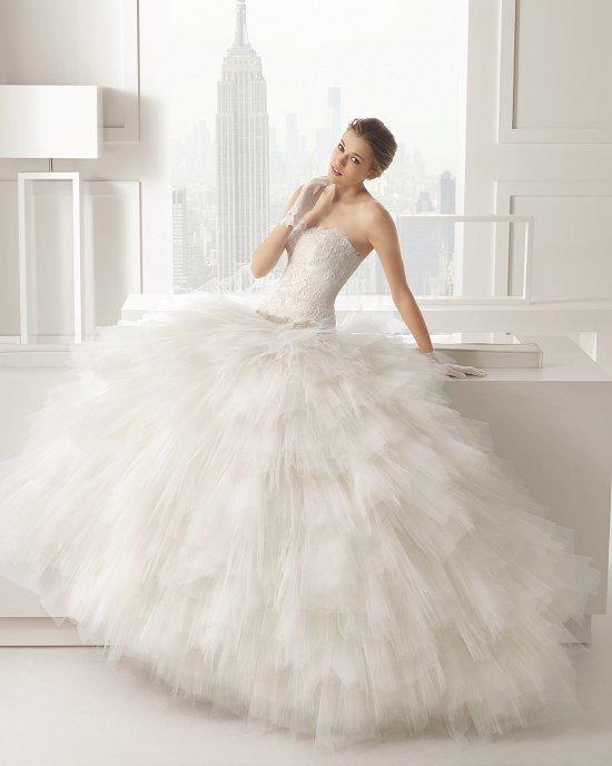 Коллекция свадебных платьев Rosa Clara 2015 фото №120