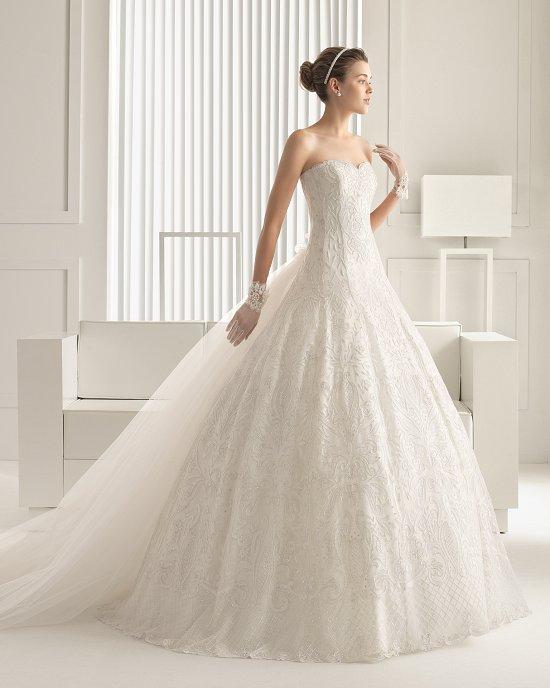 Коллекция свадебных платьев Rosa Clara 2015 фото №129