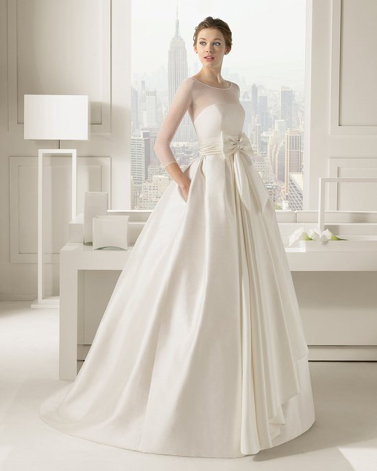 Коллекция свадебных платьев Rosa Clara 2015 фото №6