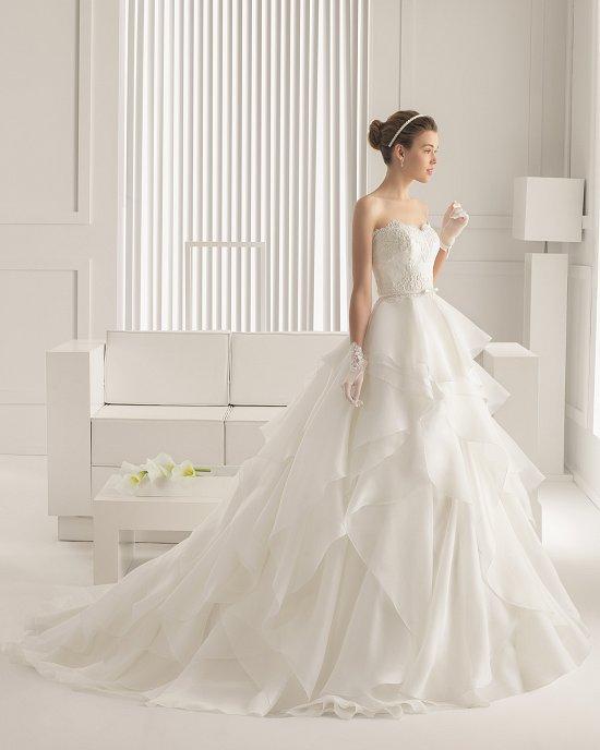 Коллекция свадебных платьев Rosa Clara 2015 фото №13