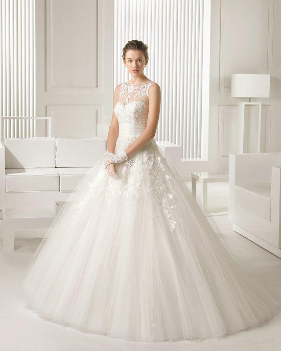 Коллекция свадебных платьев Rosa Clara 2015 фото №26