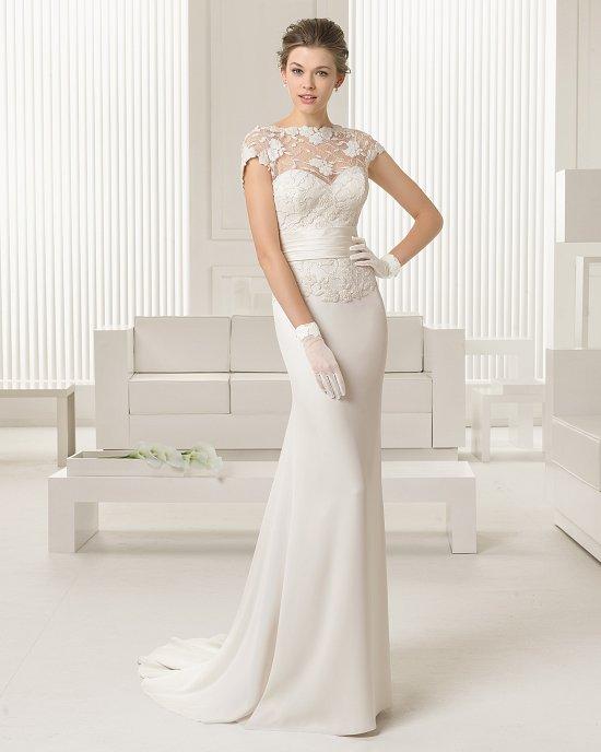 Коллекция свадебных платьев Rosa Clara 2015 фото №31