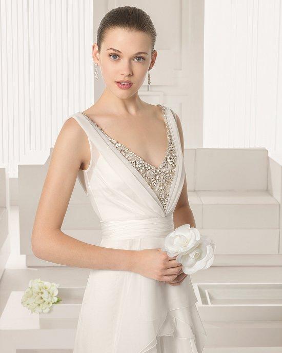 Коллекция свадебных платьев Rosa Clara 2015 фото №37