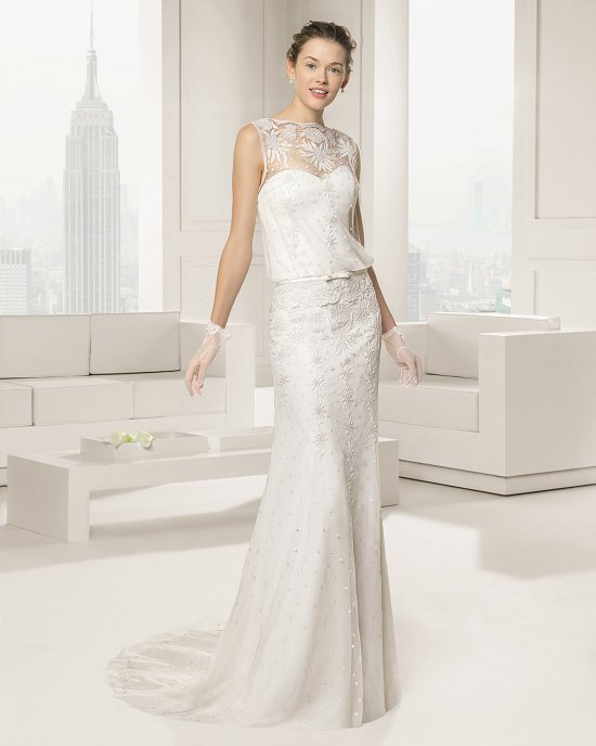 Коллекция свадебных платьев Rosa Clara 2015 фото №44