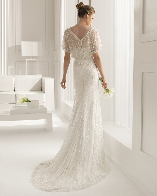 Коллекция свадебных платьев Rosa Clara 2015 фото №47