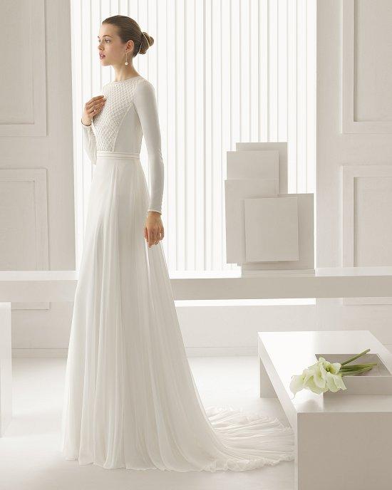 Коллекция свадебных платьев Rosa Clara 2015 фото №52