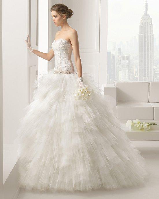 Коллекция свадебных платьев Rosa Clara 2015 фото №121