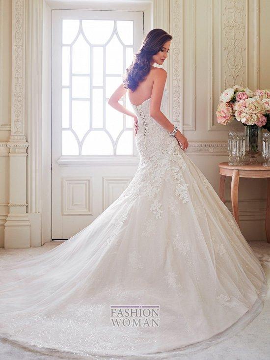 Коллекция свадебных платьев Sophia Tolli осень 2014 фото №2