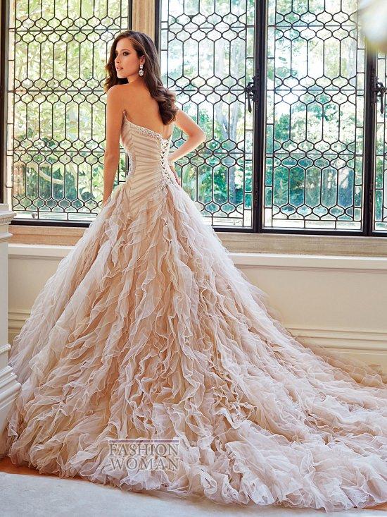 Коллекция свадебных платьев Sophia Tolli осень 2014 фото №4
