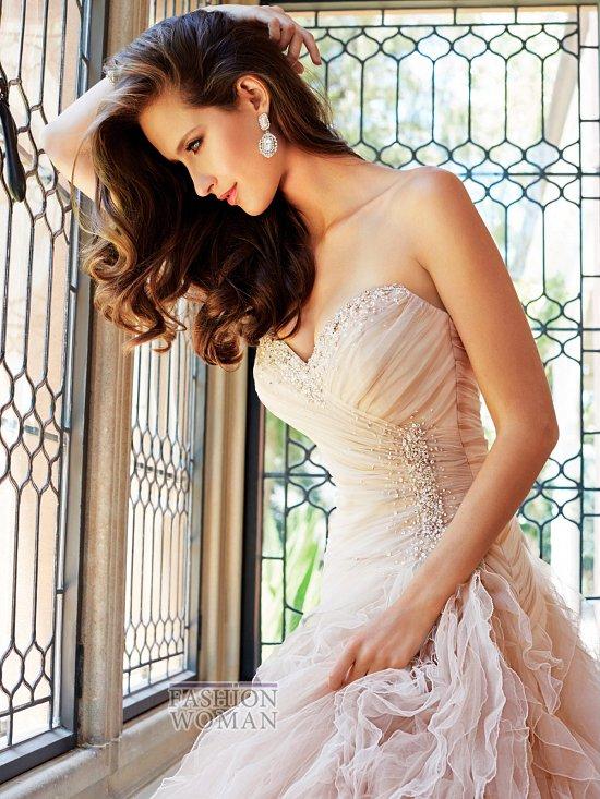 Коллекция свадебных платьев Sophia Tolli осень 2014 фото №5