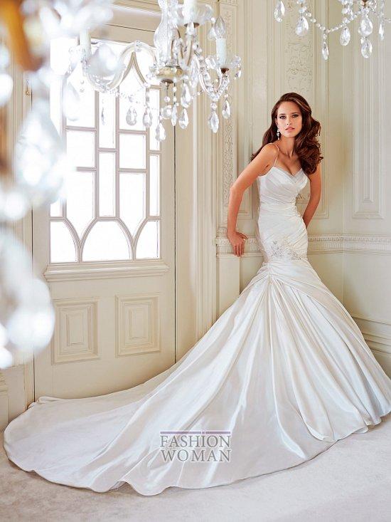 Коллекция свадебных платьев Sophia Tolli осень 2014 фото №8