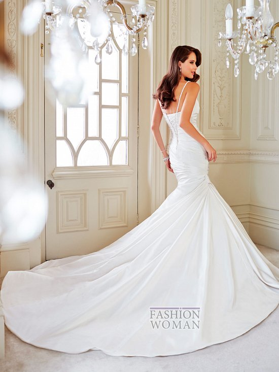 Коллекция свадебных платьев Sophia Tolli осень 2014 фото №9