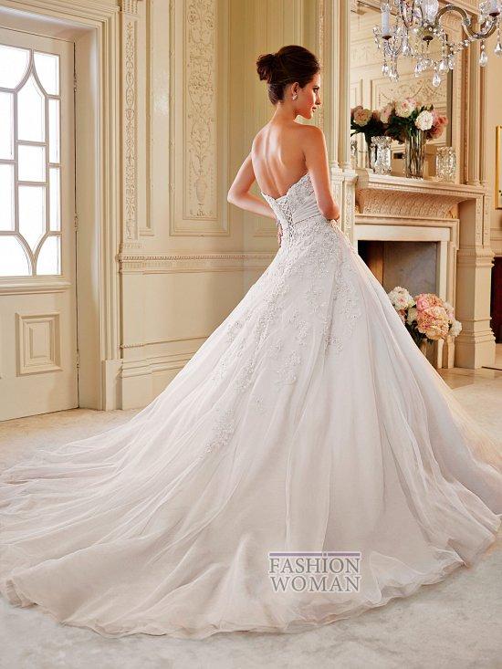 Коллекция свадебных платьев Sophia Tolli осень 2014 фото №11
