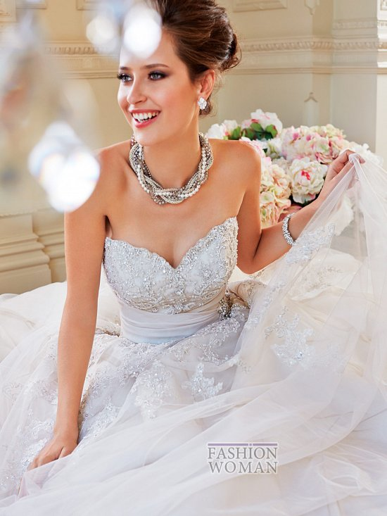 Коллекция свадебных платьев Sophia Tolli осень 2014 фото №12