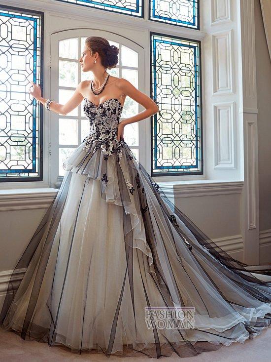 Коллекция свадебных платьев Sophia Tolli осень 2014 фото №15