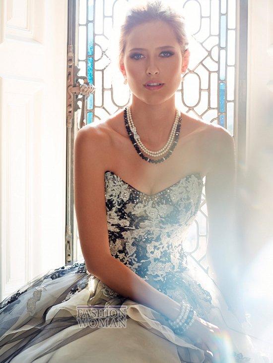 Коллекция свадебных платьев Sophia Tolli осень 2014 фото №17