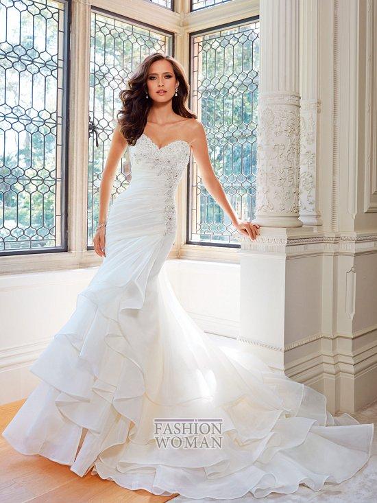 Коллекция свадебных платьев Sophia Tolli осень 2014 фото №18