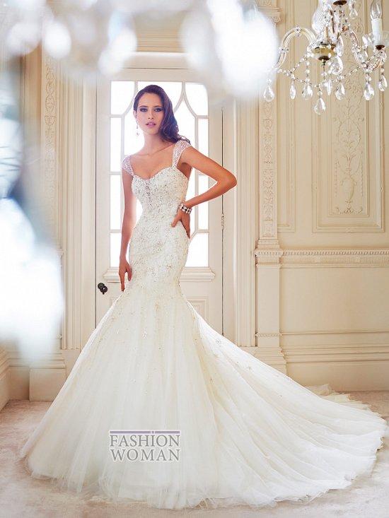 Коллекция свадебных платьев Sophia Tolli осень 2014 фото №19