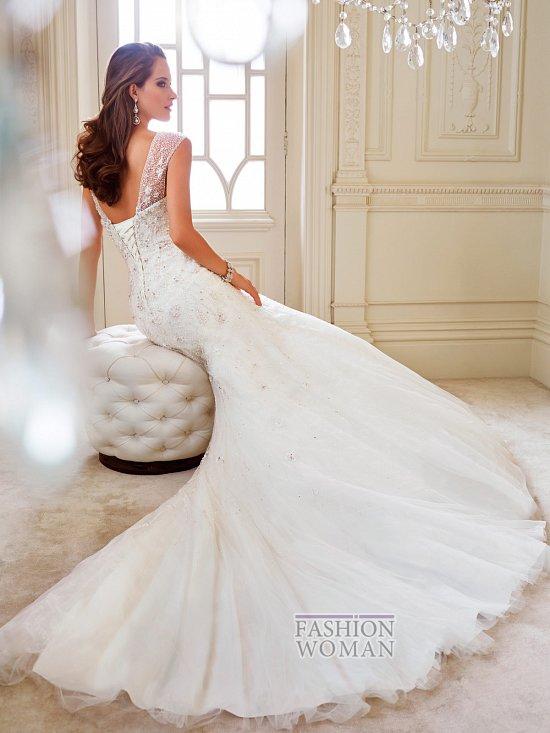 Коллекция свадебных платьев Sophia Tolli осень 2014 фото №20