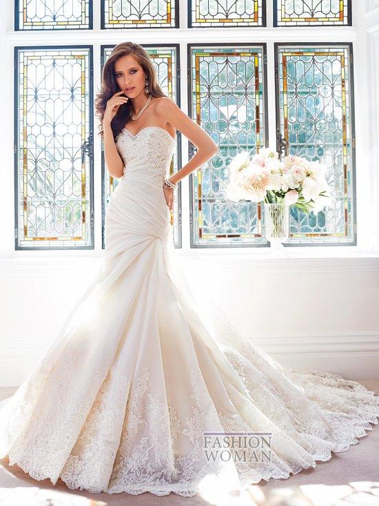 Коллекция свадебных платьев Sophia Tolli осень 2014 фото №21