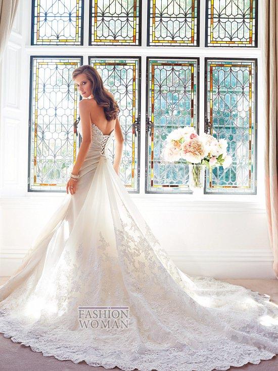 Коллекция свадебных платьев Sophia Tolli осень 2014 фото №22