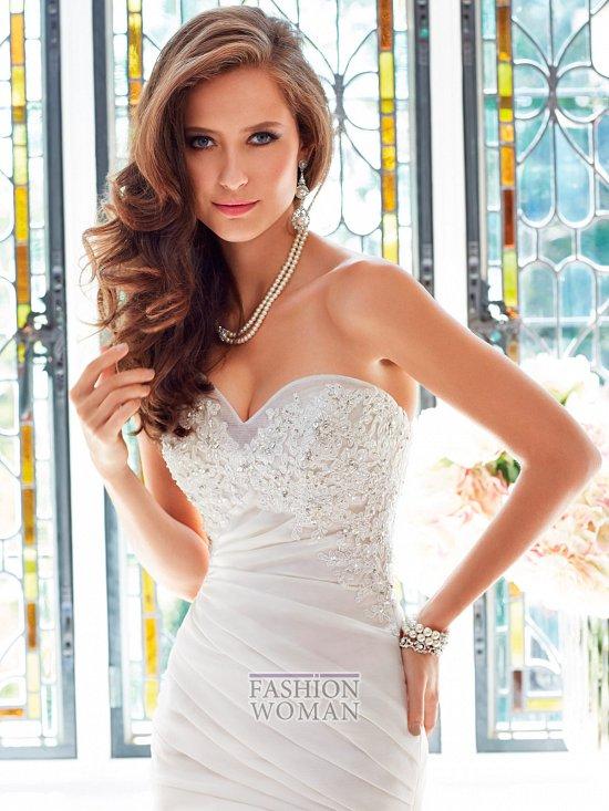 Коллекция свадебных платьев Sophia Tolli осень 2014 фото №23