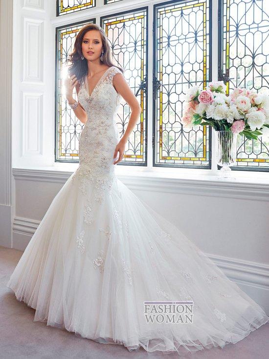 Коллекция свадебных платьев Sophia Tolli осень 2014 фото №30