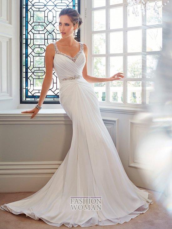 Коллекция свадебных платьев Sophia Tolli осень 2014 фото №32