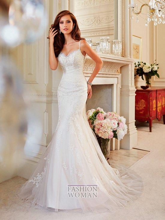 Коллекция свадебных платьев Sophia Tolli осень 2014 фото №34