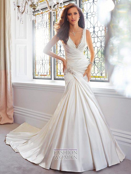 Коллекция свадебных платьев Sophia Tolli осень 2014 фото №36