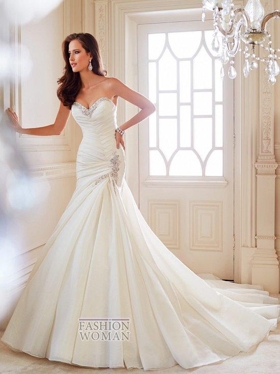 Коллекция свадебных платьев Sophia Tolli осень 2014 фото №38