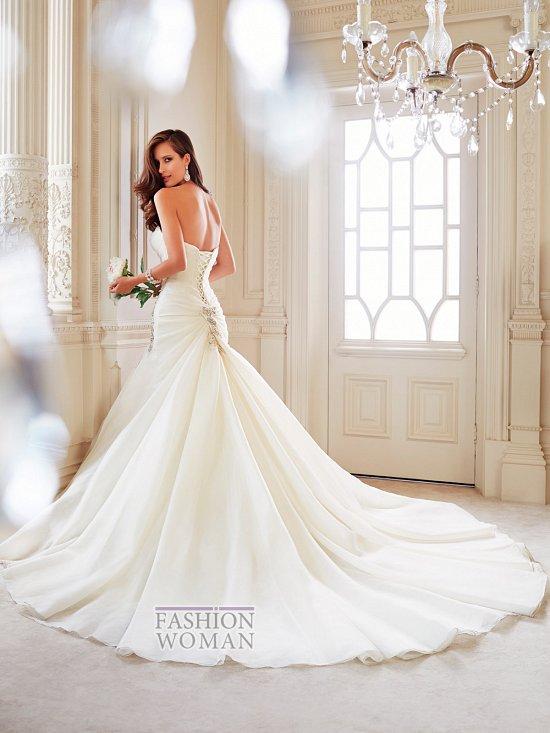 Коллекция свадебных платьев Sophia Tolli осень 2014 фото №39