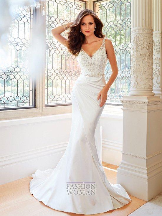 Коллекция свадебных платьев Sophia Tolli осень 2014 фото №40