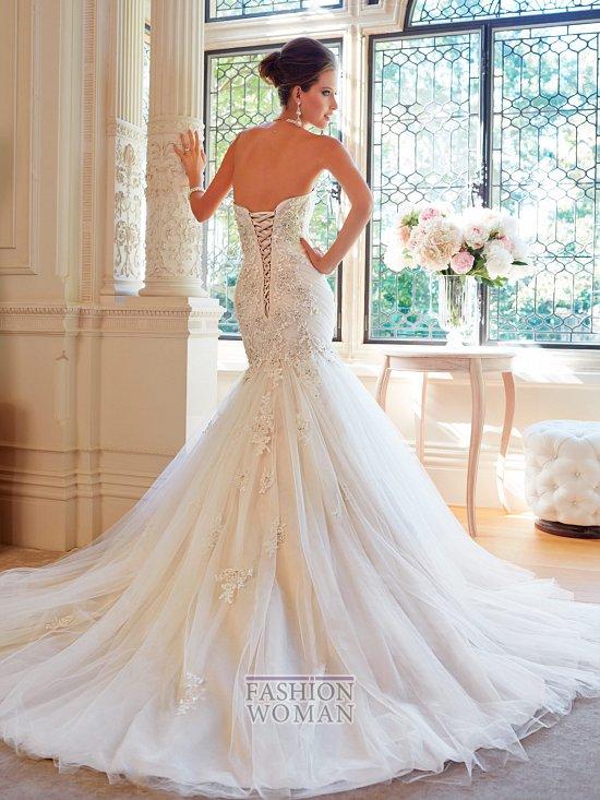 Коллекция свадебных платьев Sophia Tolli осень 2014 фото №42