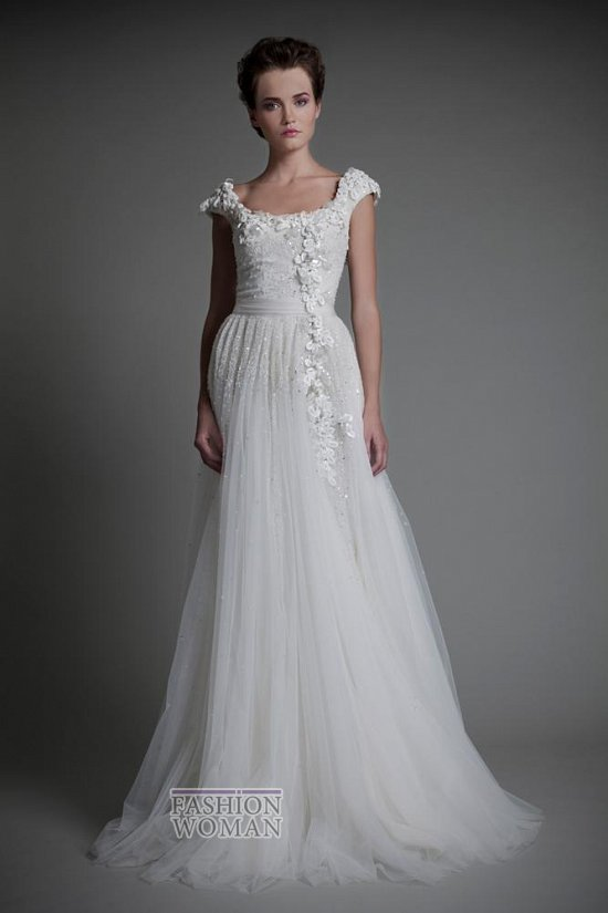 Коллекция свадебных платьев Tony Ward 2013 фото №14