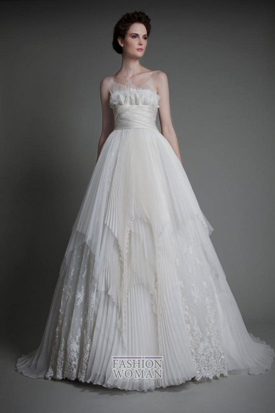 Коллекция свадебных платьев Tony Ward 2013 фото №5