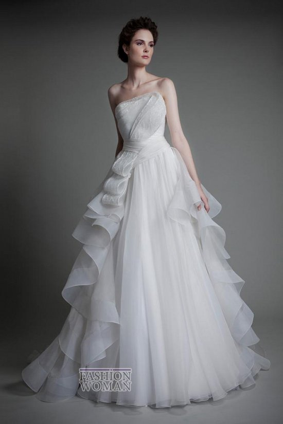 Коллекция свадебных платьев Tony Ward 2013 фото №7
