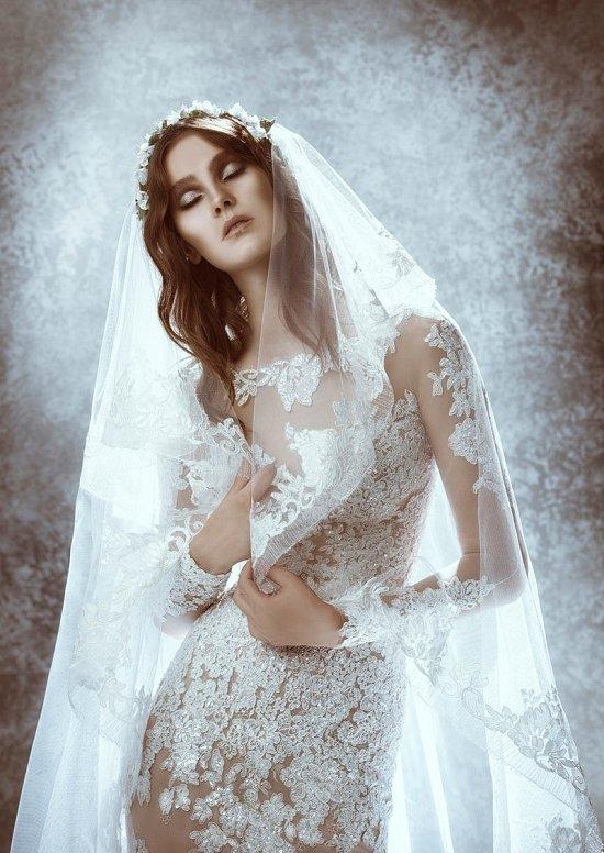 Коллекция свадебных платьев Zuhair Murad осень 2015 фото №12