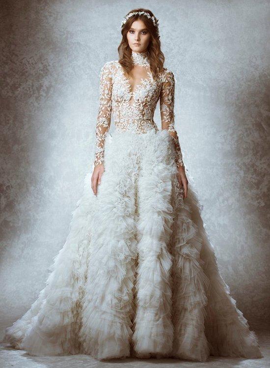 Коллекция свадебных платьев Zuhair Murad осень 2015 фото №7