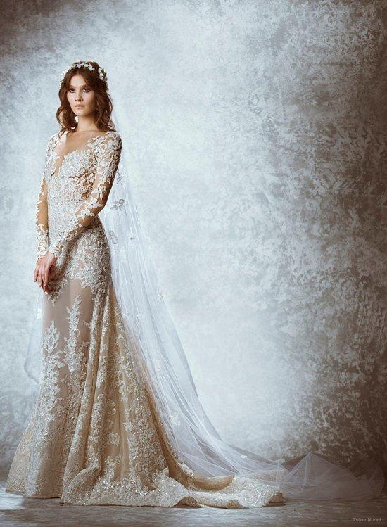 Коллекция свадебных платьев Zuhair Murad осень 2015 фото №8