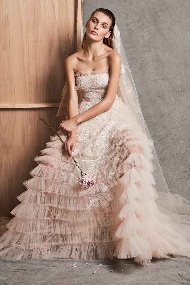 Коллекция свадебных платьев Zuhair Murad осень-зима 2018-2019 фото №3