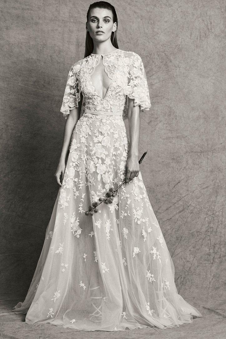 Коллекция свадебных платьев Zuhair Murad осень-зима 2018-2019 фото №7