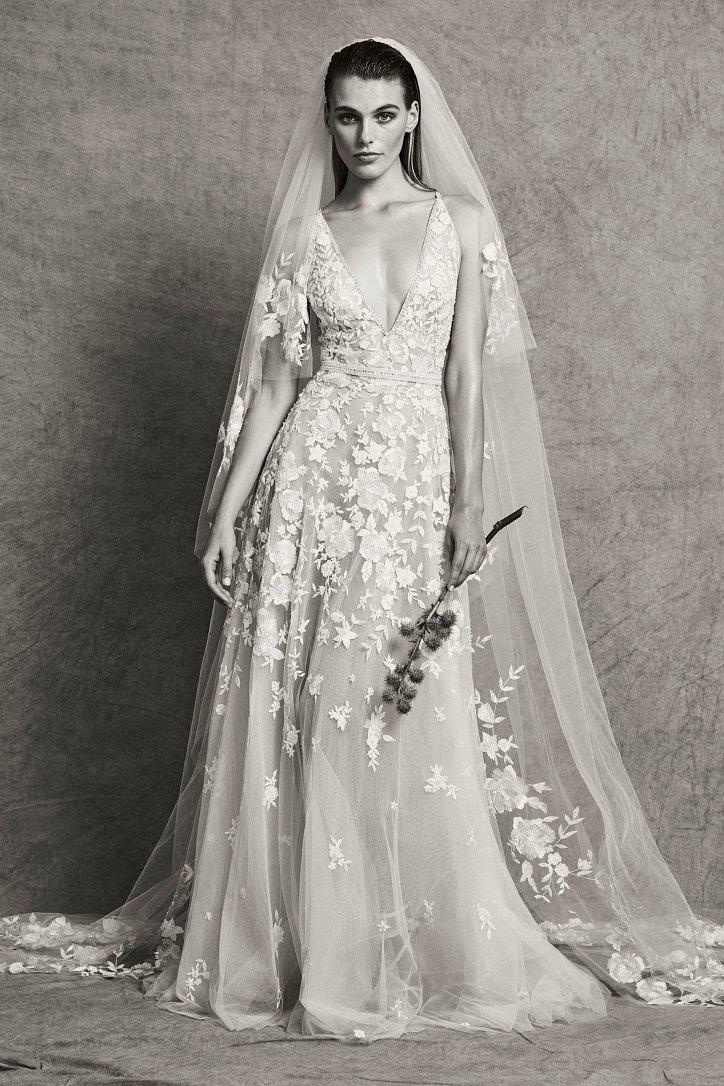 Коллекция свадебных платьев Zuhair Murad осень-зима 2018-2019 фото №8