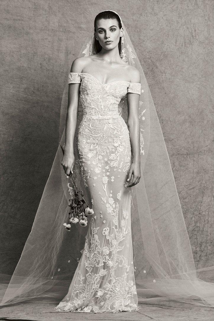 Коллекция свадебных платьев Zuhair Murad осень-зима 2018-2019 фото №10