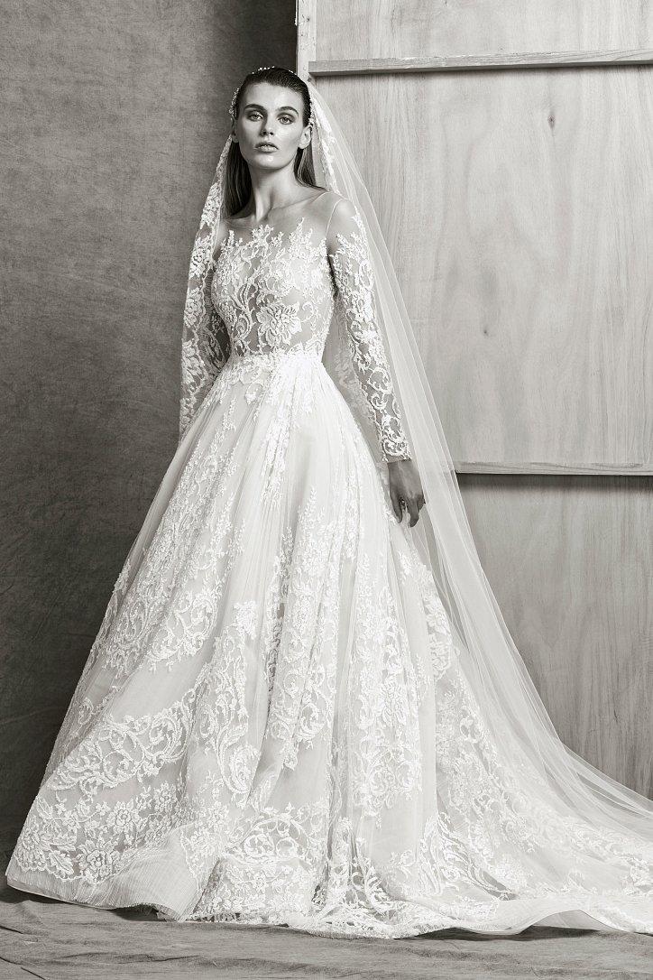 Коллекция свадебных платьев Zuhair Murad осень-зима 2018-2019 фото №11