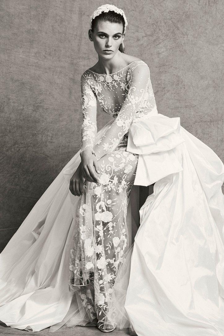 Коллекция свадебных платьев Zuhair Murad осень-зима 2018-2019 фото №14