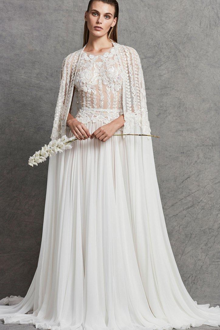 Коллекция свадебных платьев Zuhair Murad осень-зима 2018-2019 фото №17