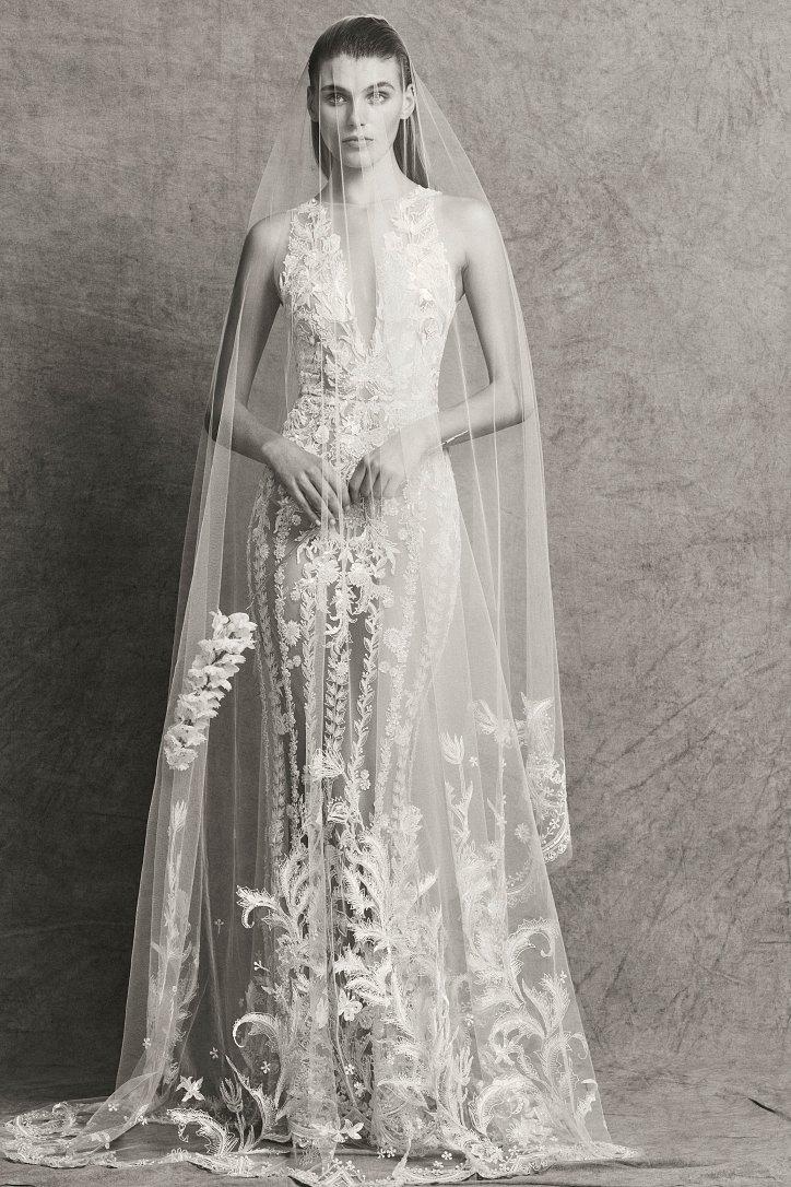 Коллекция свадебных платьев Zuhair Murad осень-зима 2018-2019 фото №18