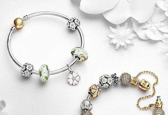 Коллекция украшений Pandora весна 2015 фото №12