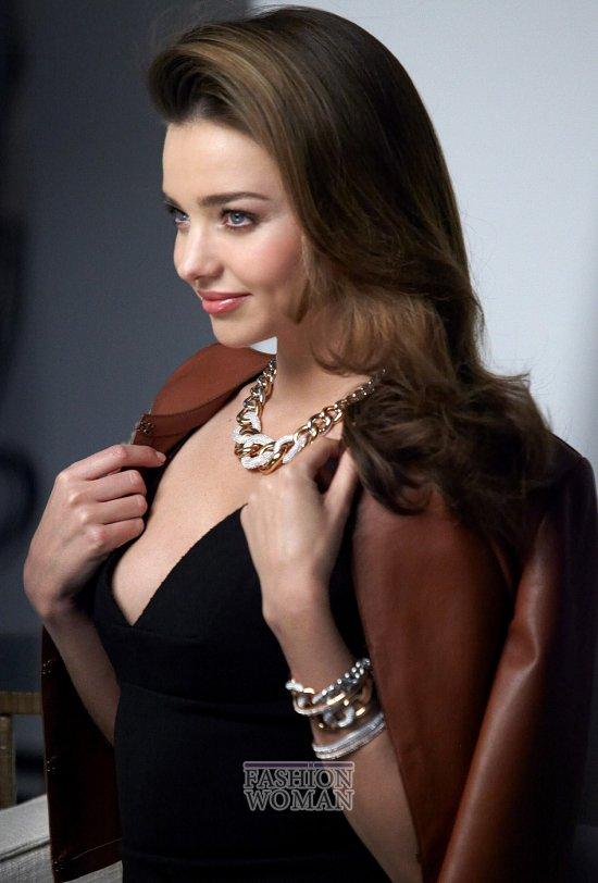 Миранда Керр в рекламе Сваровски